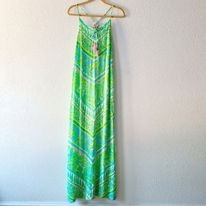 Lilly Pulitzer Coconut Jungle Tassle Dress Size XS